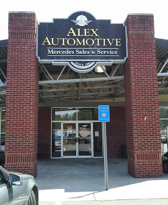Shop Front - Alex Automotive
